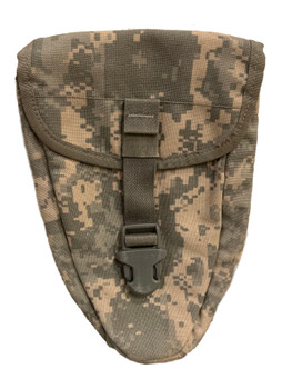 US Military ACU E-Tool Entrenching Tool Shovel Carrier MOLLE