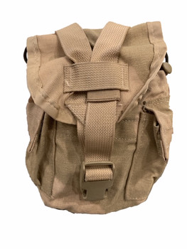 USGI 3 Color MOLLE Canteen Cover General Purpose Pouch 5 Mag Holder VGC Dump Pouch