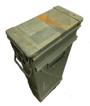 120mm Ammo Can CA44 Military Issue Rifle Case 1500rds 556 Ammo Very Good Condition