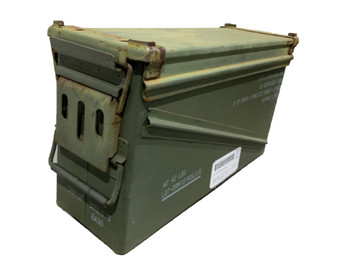 Ole Rusty DIY 40mm Ammo Can BA20 Steel Medium Ammo Can Fair Condition
