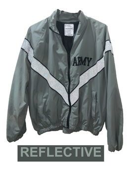 Army Grey PT Jacket Wind Breaker