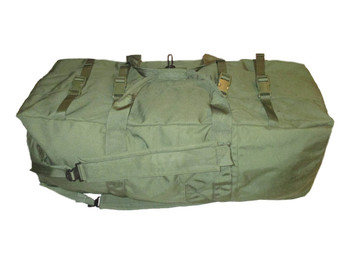 Official Military Enhanced Zipper Tactical Duffel Bag OD Green