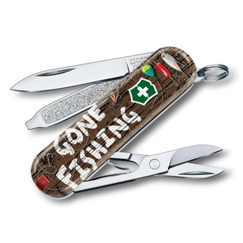 Swiss Army Classic SD Limited Edition Gone Fishing Knife