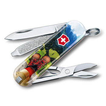 Swiss Army Classic SD Limited Edition Climb High Knife