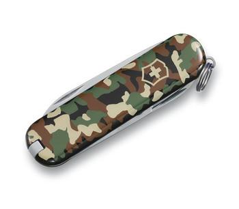 Swiss Army Camo Classic SD Knife
