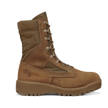 Belleville USMC Certified Hot Weather Boots with EGA Made in USA