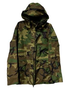 Original Military Goretex Jacket GEN II Woodland Camo