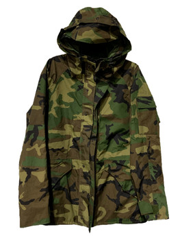 Original Military Goretex Jacket GEN II Woodland Camo