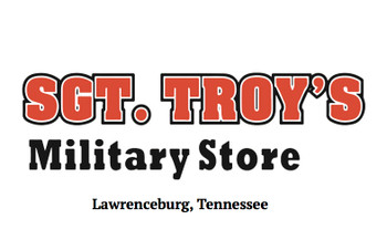 SGT TROYS Military Store Decal Sticker 3x6 Made in USA
