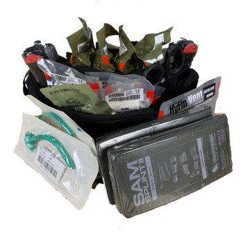 Fast Deploy Tactical Medical Pack with Supplies