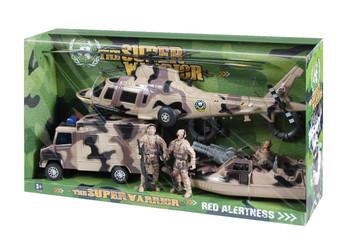 Super Warrior Vehicle Play Set