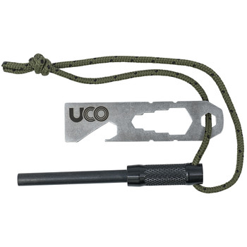 Survival Fire Striker Ferro Rod Black
