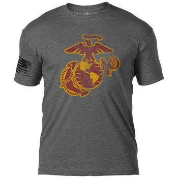 USMC EGA 'Distressed' T-Shirt