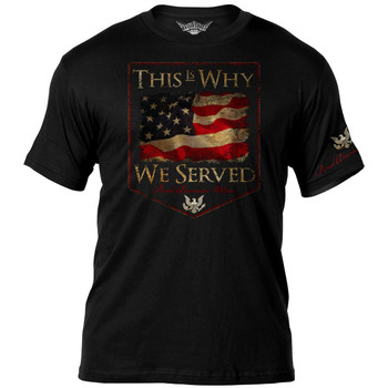 Veterans ' This Is Why ' T-Shirt