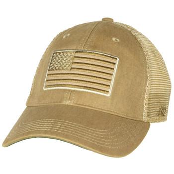 Tactical US Flag Vintage Trucker Hat