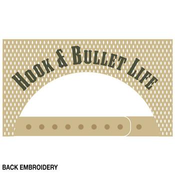 'Hook and Bullet Life' Flag Vintage Trucker Hat