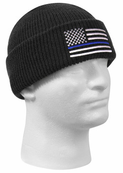 Rothco Blue Line Deluxe Embroidered Watch Cap