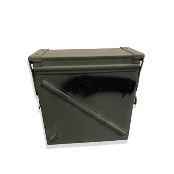 Military 25mm Ammo Can PA125 7.62mm 5.56mm used Grade 2