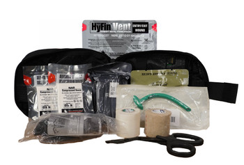 Military Individual First Aid Kit (IFAK) Complete