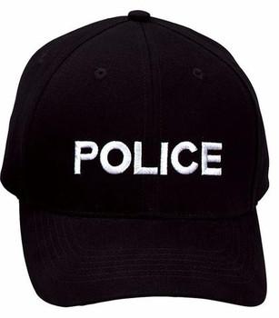 Police Low Profile Insignia Cap