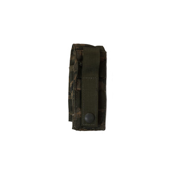 Military ABU Single Pistol Mag MOLLE Pouch used