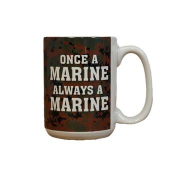 Once a Marine Always a Marine Digital 15oz Coffee Mug