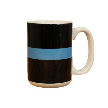 Thin Blue Line 15oz Coffee Mug