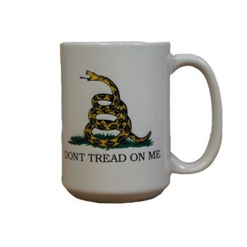 Gadsden Don't Tread On Me 15oz Coffee Mug