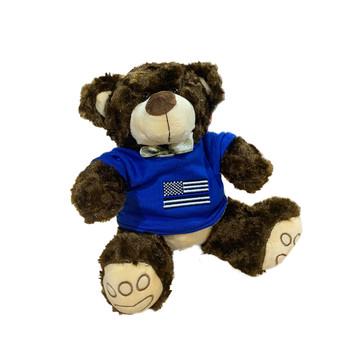 Thin Blue Line Teddy Bear