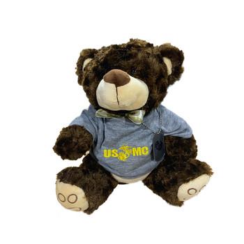 USMC Teddy Bear with Dog Tag
