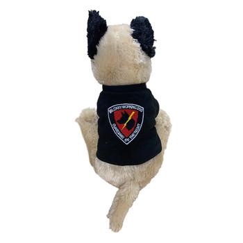 Military Working Dog Plush K-9 Dog