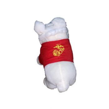 USMC Pit Bull Plush Dog