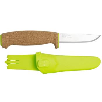 Morakniv Floating Knife with Cork Handle Lime