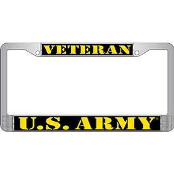 U.S. Army Veteran License Frame