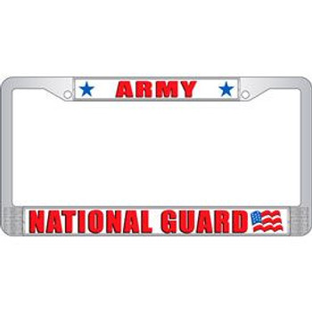 National Guard License Frame