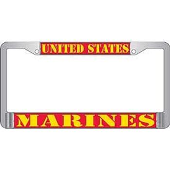United States Marines License Frame