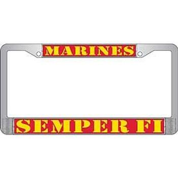 U.S. Marines Semper Fi License Frame