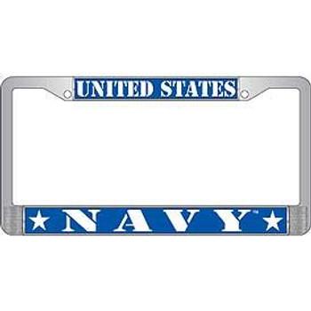 United States Navy License Frame
