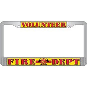 Volunteer Fire Dept. License Frame