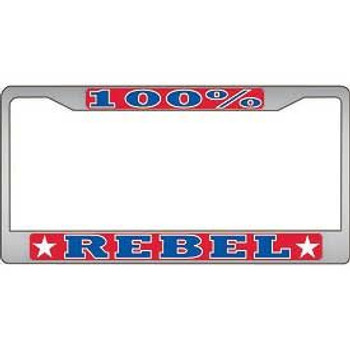100% Rebel License Frame