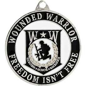 Wounded Warrior Key Ring