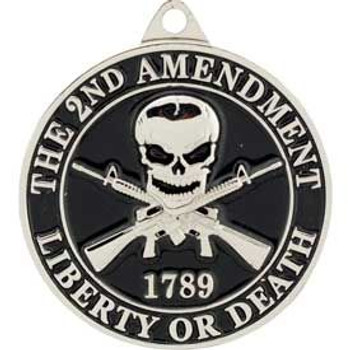 "2nd Amendment Key Ring (1-1/2"")"