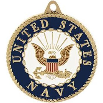 """U.S. Navy Key Ring (1-1/2"""")"""
