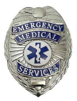 Emergency Medical Services Badge (Nickel)
