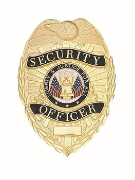 Security Officer Badge (Gold)