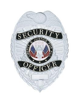 Security Officer Badge (Nickel)