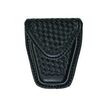 Airtek Single Closed Standard Handcuff Case (Basket Weave)