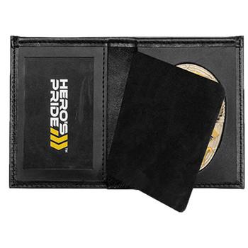 Hero's Pride Deluxe Bi-Fold Wallet w/ Recessed Badege Area