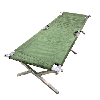 Genuine Military Issue Folding Cot Tri-Fold USA Made New