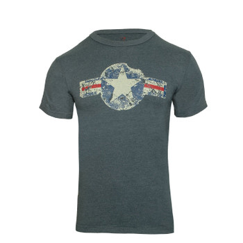 Rothco Vintage Army Air Corps T-Shirt Blue
